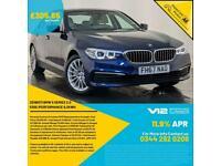 2018 BMW 530E SE HYBRID AUTO SAT NAV PARKING SENSORS LEATHER SEATS SVC HISTORY