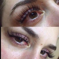 EYELASH EXTENSIONS CANADA DAY !! ♡♡♡♡♡ $60