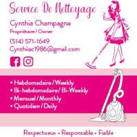 Service de nettoyage/cleaning services
