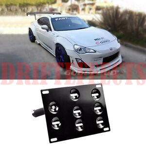 SCION FRS FT-86 BRZ LICENSE TOW PLATE MOUNTING KIT BRACKET HOLDE
