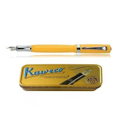 Kaweco STUDENT fountain pen yellow Pen Nib: B (bold)