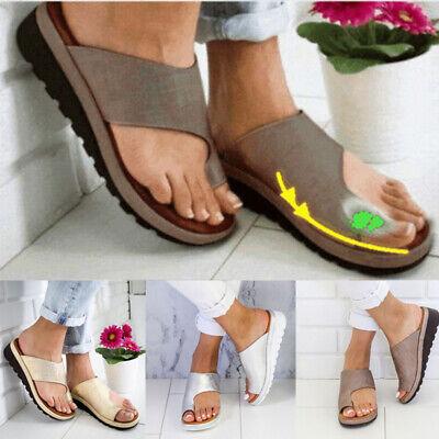 Lady Plattform Sandale Schuhe Ankle Strap Peep Toe Korrektur Arch