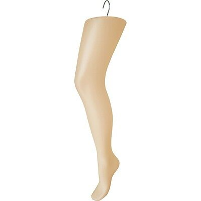 Mn-233 Fleshtone Plastic Womens Thigh-high Hosiery Leg Hanger Mannequin Display