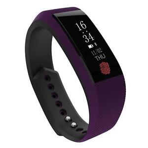 Smart Fitness Waterproof Sports Wristband with Heart Rate Monitor