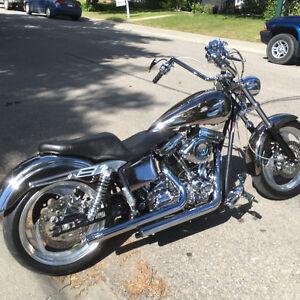 Will trade custom 110SE FXR HARLEY