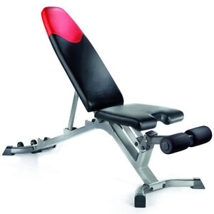 Bowflex 3.1 Adjustable Bench (Barely Used)
