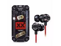 Brand New Sealed JVC Extreme Explosives In-Ear Headphones - Black