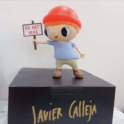 Spain Javier Calleja NO ART HERE PVC Garage Kit Model Toy With Box H40CM