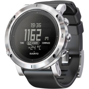 Suunto Core (brushed steel) mens sports watch