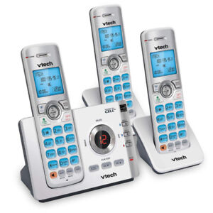 3 Handset Connect to Cell™ Phone/Answering System with Caller ID