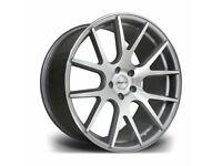 "x4 20"" Riviera RV185 Alloy Wheels Bmw 3 4 5 6 Series M Sport Silver Pol 5x120"