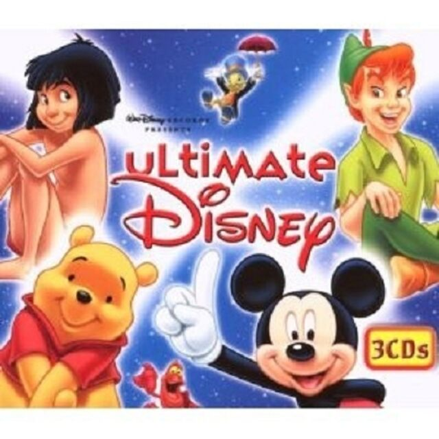 THE ULTIMATE DISNEY BOX 3 CD SOUNDTRACK FILMMUSIK KINDER NEU