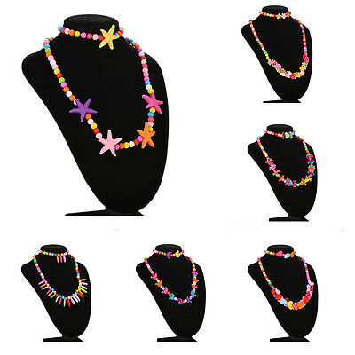 Kids Fashion Necklace Bracelet Best Jewelry Gifts for Baby Girls 6 Type