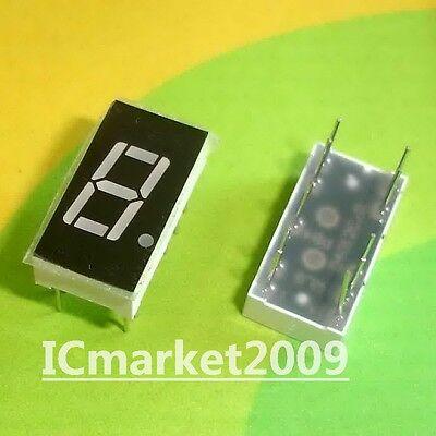 10 Pcs 0.4 Inch Red 7 Segment Led Display Common Cathode Bit