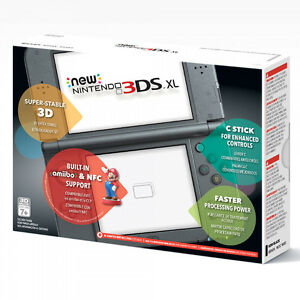 *new* Nintendo 3DS XL with Games (Black)