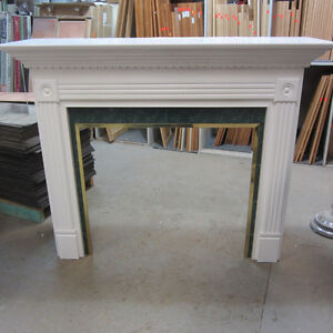 Fireplace Face & Mantle