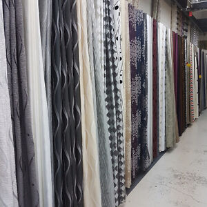 Drapery King Toronto Fabric and Ready Made Draperies Sale