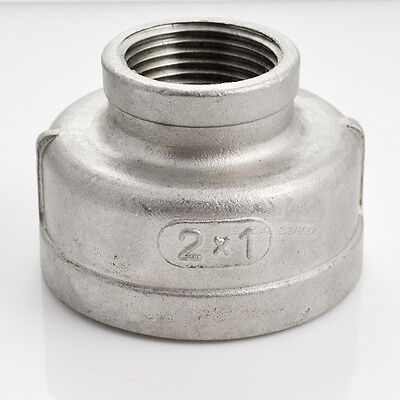 2 X 1 Female Nipple Ss 304 Stainless Reducer Pipe Fitting Npt Threads Megairon