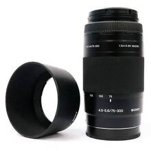 Sony SAL75300 Lens 75-300mm f/4.5-5.6 D Five Dock Canada Bay Area Preview