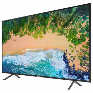 "Samsung NU7100 75"" 4K UHD HDR LED Tizen Smart TV (UN75NU7100FXZC"