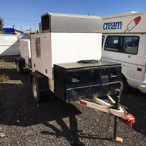 Mini Reefer Trailer with Holdover Cartidges