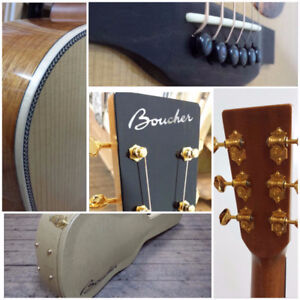 Boucher Guitars exclusively at Mingo Music Sales- Truro