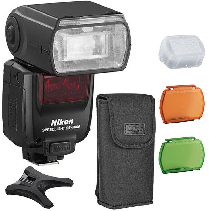 Nikon SB-5000 Speedlight AF Shoe Mount Flash for Nikon DSLR Cameras