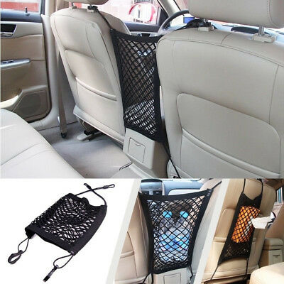 Organisator Lagerung Tasche (Universal Nylon Auto Lagerung Tasche Organisator Gepäcknetz Für VW Acura BMW NEU)