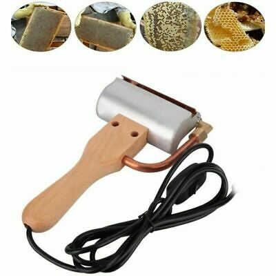 Electric Honey Extractor Knife Hot Spleen Cutting Bee Supply Scraper Us Plug