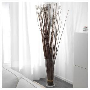 Vase et branches décoratives, IKEA