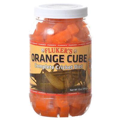 (Fluker's  Orange Cube Complete Cricket Diet net weight 12 oz)