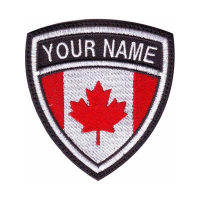 Canada Personalized Crest Embroidered (Personalization Canada)