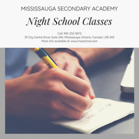 PART TIME HIGH SCHOOL CREDIT COURSES IN MISSISSAUGA