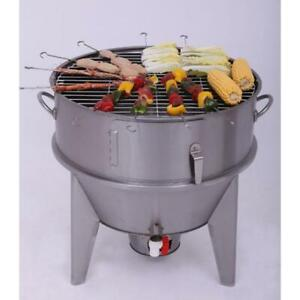 Stainless Steel Charcoal Roast Duck Oven Barbecue Roaster Grilled Fish 220094
