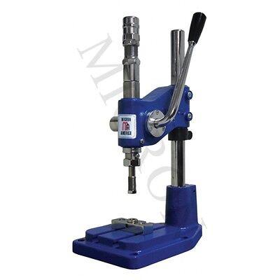 Grommet Machine Dep-2 Stroking Hand Press Machine 2 38 Self Piercing Dies