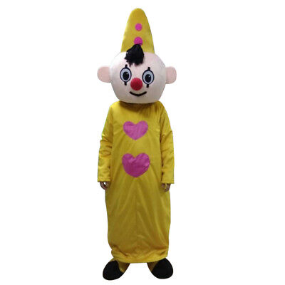 2019 Yellow Hat Boy Mascot Bumba Mascot Costumes For For Halloween Party Event A
