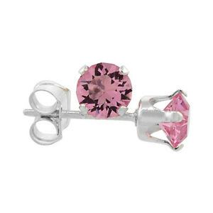 Sterling Silver Swarovski Crystal Birthstone Stud Earrings $6 ea Windsor Region Ontario image 2