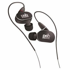 NEW PSB M4U 4 High Def In-Ear Monitors (Headphones ) Black