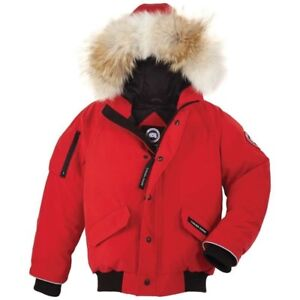 Authentic Canada Goose Jacket Red Bomber Style 50% OFF
