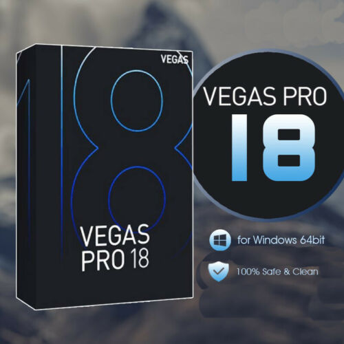 Magix Sony VEGAS Pro 18 Professional Video Editor Fully Activated Fast Shipping