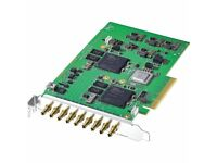 Blackmagic DECKLINK QUAD 2 Eight channel configurable PCIe video capture and playback-New & Boxed