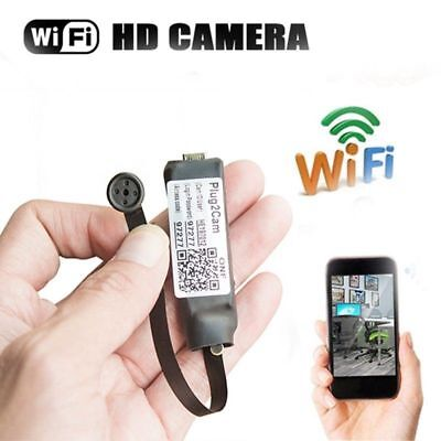 (Mini WIFI 1080P HD Spy Hidden IP Camera Wireless DIY Module DV DVR NVR Nanny Cam)