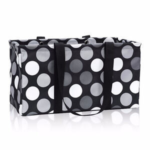 Brand new Thirty one Large Utility Tote With Lid