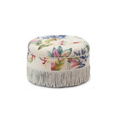 Yolanda Tufted Decorative Round Ottoman -