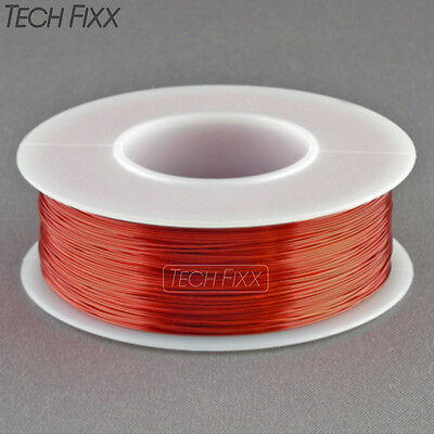 Magnet Wire 28 Gauge Awg Enameled Copper 460 Feet Coil Winding Crafts Red