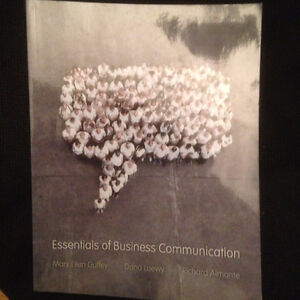 Essentials of Business Communication 8th Canadian Ed