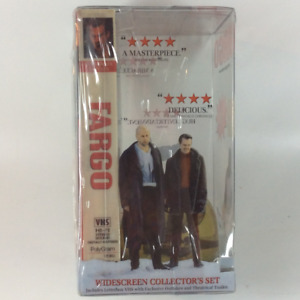 1997 Fargo VHS Tape Collector's Set with Snow Globe