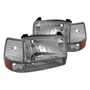 Ford F150 / Bronco  1992 - 1996 Clear headlights and turn signal