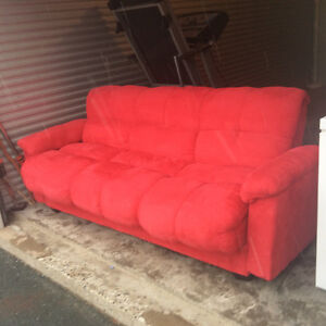 Futon Coach- Excellant cond $300 obo Delivery availAble