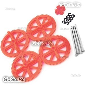 Parrot AR Drone 2.0 & 1.0 Quadcopter Spare Parts Motor Gears & Shaft Red MC021RD